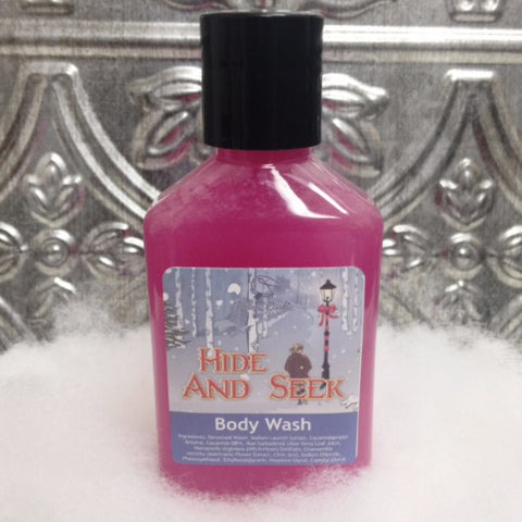HIDE AND SEEK Body Wash (travel size) - Fortune Cookie Soap