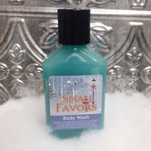 SMALL FAVORS Body Wash (travel size) - Fortune Cookie Soap