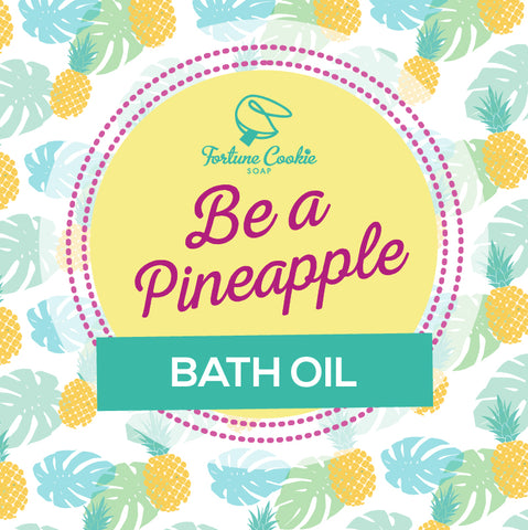BE A PINEAPPLE Bath Oil