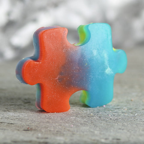 AUTISM AWARENESS Bar Soap - Fortune Cookie Soap - 1