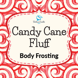 CANDY CANE FLUFF Body Frosting