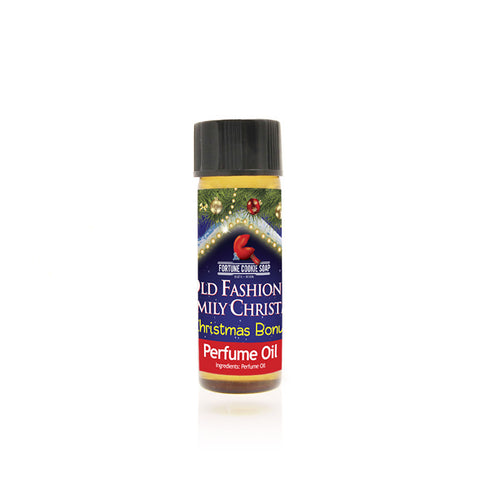 Christmas Bonus Perfume Oil - Fortune Cookie Soap