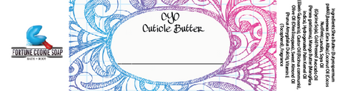 CYO Cuticle Butter 48 hr Event - Fortune Cookie Soap