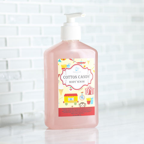 COTTON CANDY Body Wash - Fortune Cookie Soap - 1