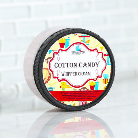 COTTON CANDY Whipped Cream - Fortune Cookie Soap - 1