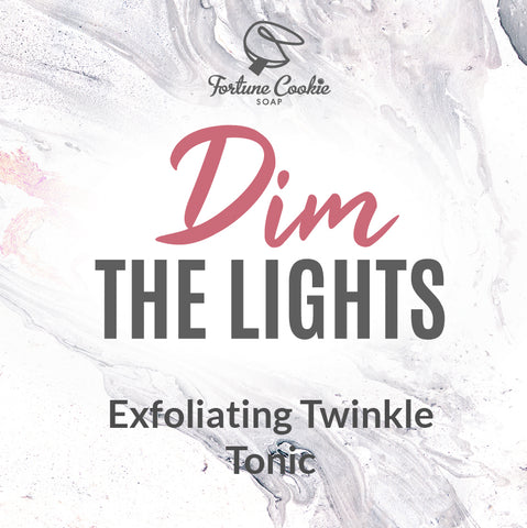 DIM THE LIGHTS Exfoliating Twinkle Tonic