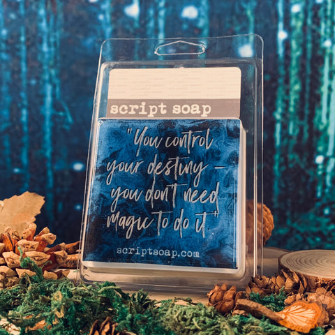 YOU CONTROL YOUR DESTINY... Script Soap