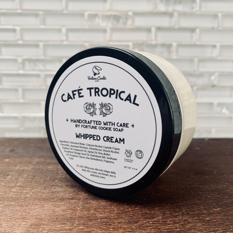 CAFE TROPICAL Whipped Cream