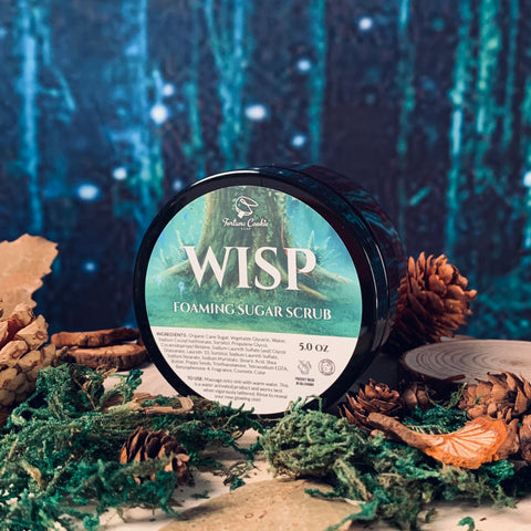 WISP Foaming Sugar Scrub