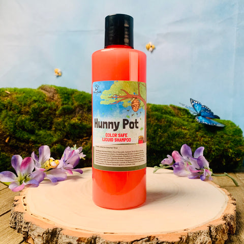 HUNNY POT Liquid Shampoo COLOR SAFE