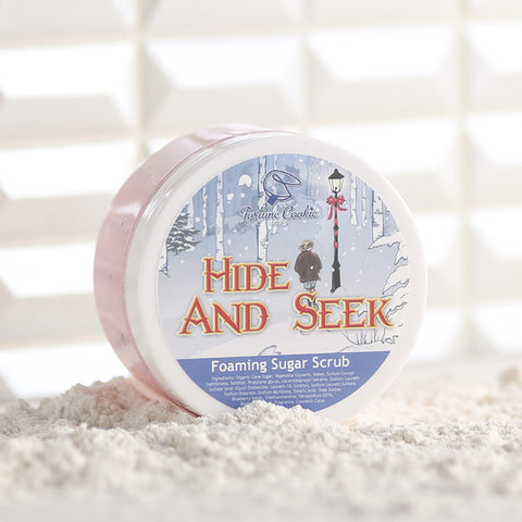 HIDE AND SEEK Foaming Sugar Scrub - Fortune Cookie Soap