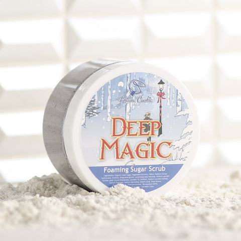 DEEP MAGIC Foaming Sugar Scrub - Fortune Cookie Soap - 1