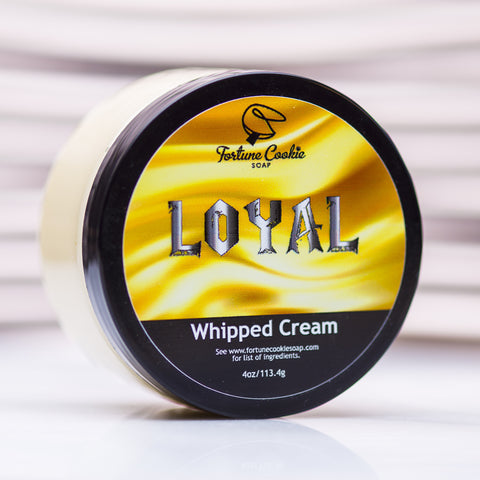LOYAL Whipped Cream #wcw - Fortune Cookie Soap
