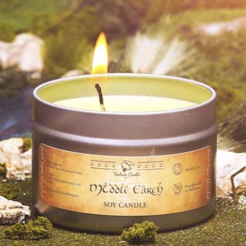MIDDLE EARTH Hand Poured Soy Candle