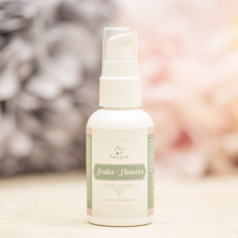 FRUITS + FLOWERS Facial Cleansing Oil - Fortune Cookie Soap