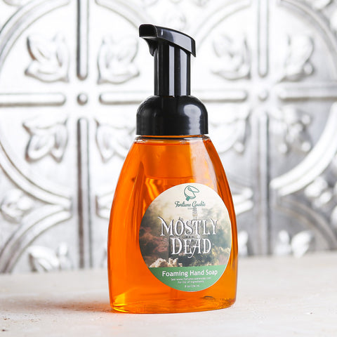 MOSTLY DEAD Foaming Hand Soap - Fortune Cookie Soap