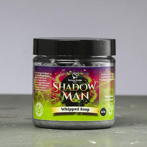 SHADOW MAN Charcoal Whipped Soap