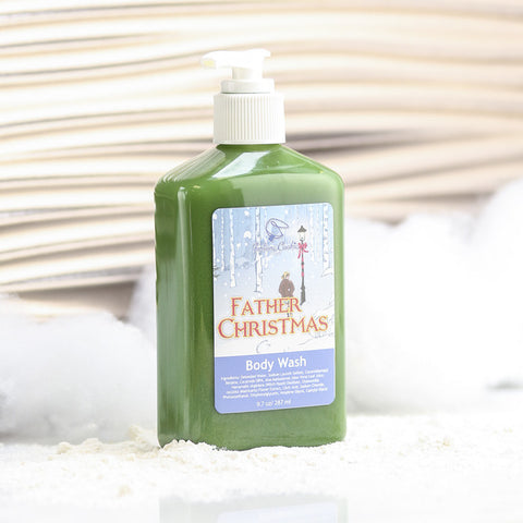 FATHER CHRISTMAS Body Wash - Fortune Cookie Soap - 1