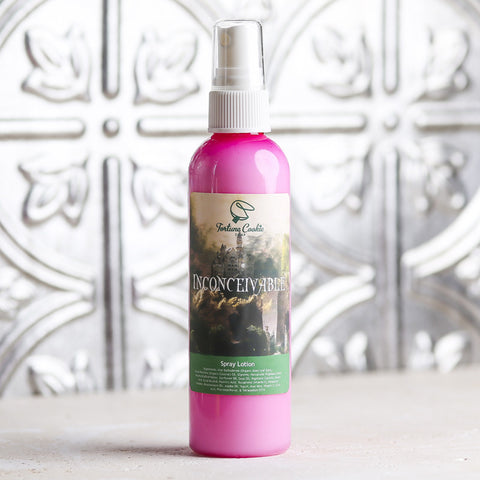 INCONCEIVABLE! Spray Lotion - Fortune Cookie Soap