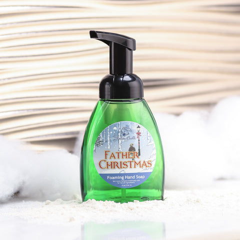 FATHER CHRISTMAS Foaming Hand Soap - Fortune Cookie Soap - 1