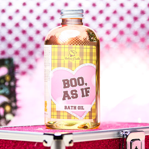 BOO, AS IF Bath Oil