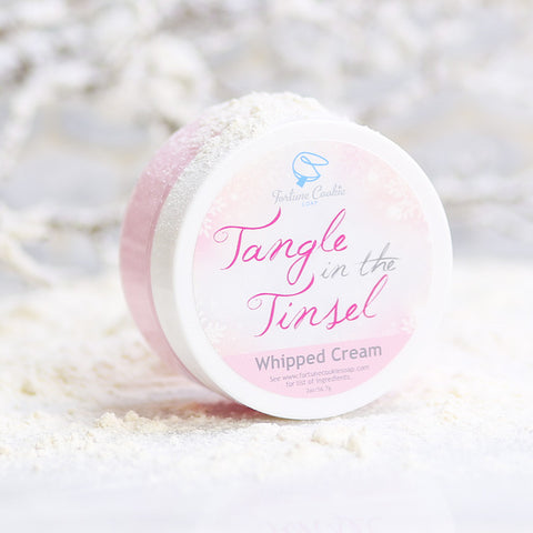 TANGLE IN THE TINSEL Whipped Cream - Fortune Cookie Soap - 1