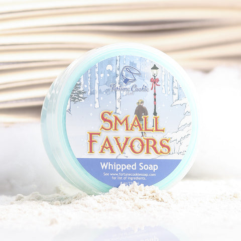 SMALL FAVORS Whipped Soap - Fortune Cookie Soap - 1