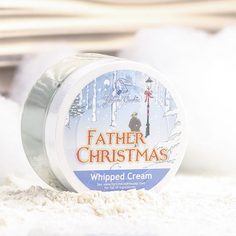 FATHER CHRISTMAS Whipped Cream - Fortune Cookie Soap - 1