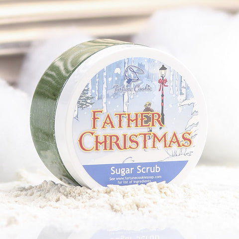 FATHER CHRISTMAS Sugar Scrub - Fortune Cookie Soap - 1