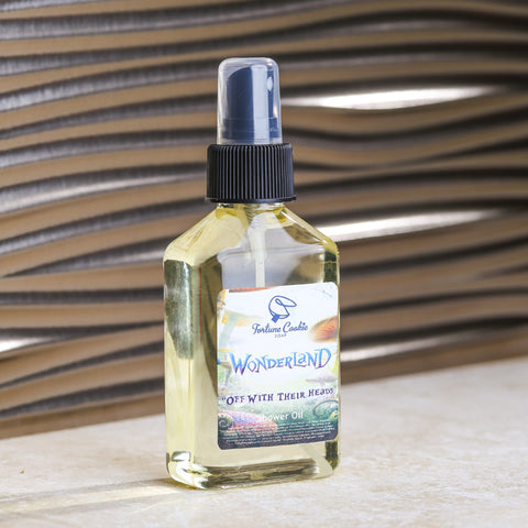 OFF WITH THEIR HEADS Shower Oil (Pre-Order) - Fortune Cookie Soap