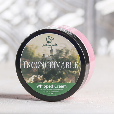 INCONCEIVABLE! Whipped Cream - Fortune Cookie Soap - 1