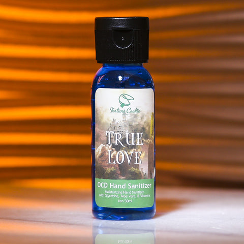 TRUE LOVE OCD Hand Sanitizer - Fortune Cookie Soap - 1