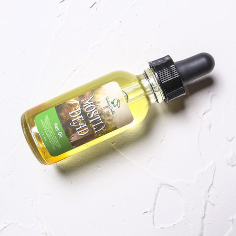 MOSTLY DEAD Hair Oil - Fortune Cookie Soap