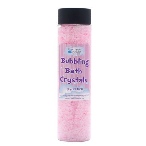UNICORN FARTS Bath Salts - Fortune Cookie Soap