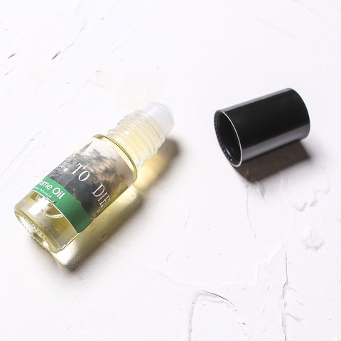 PREPARE TO DIE Roll On Perfume Oil - Fortune Cookie Soap