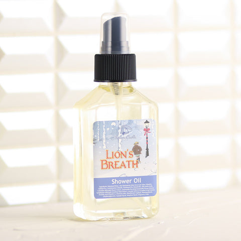 LION'S BREATH Shower Oil - Fortune Cookie Soap