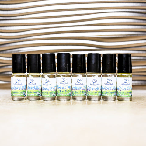 WONDERLAND Perfume Oil Collector's Edition Set - Fortune Cookie Soap