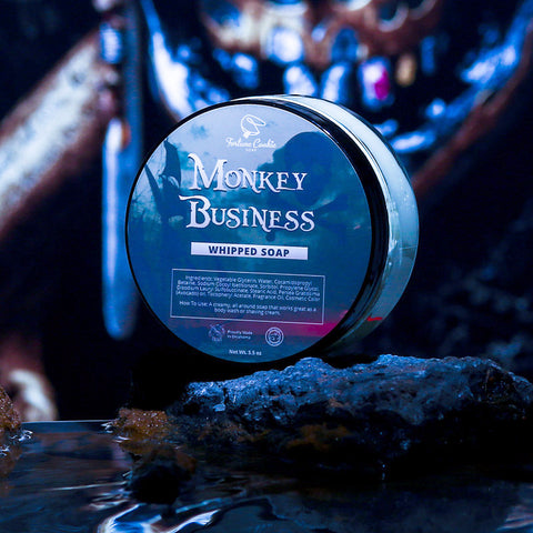 MONKEY BUSINESS Whipped Soap