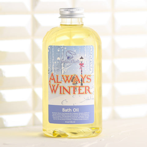 ALWAYS WINTER Bath Oil - Fortune Cookie Soap