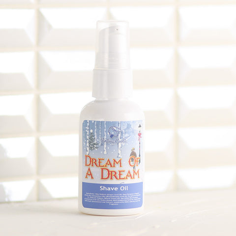 DREAM OF A DREAM Shave Oil - Fortune Cookie Soap