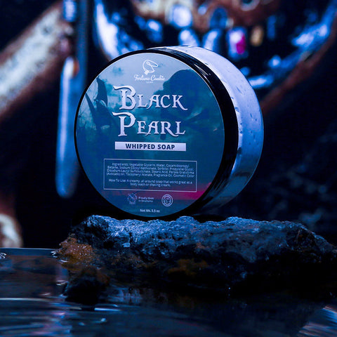BLACK PEARL Whipped Soap