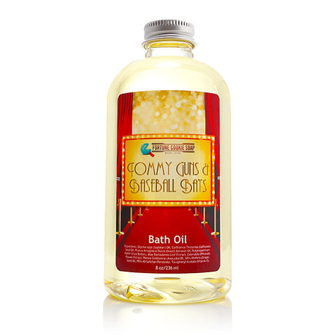 DRESSED TO KILL Bath Oil - Fortune Cookie Soap
