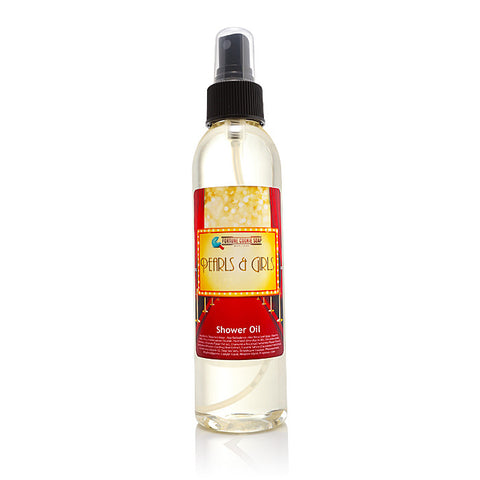 PEARLS & GIRLS Shower Oil - Fortune Cookie Soap