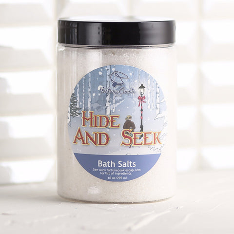 HIDE AND SEEK Bath Salts - Fortune Cookie Soap - 1