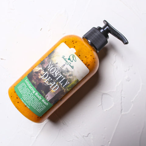MOSTLY DEAD Exfoliating Body Wash - Fortune Cookie Soap