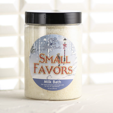 SMALL FAVORS Milk Bath - Fortune Cookie Soap - 1