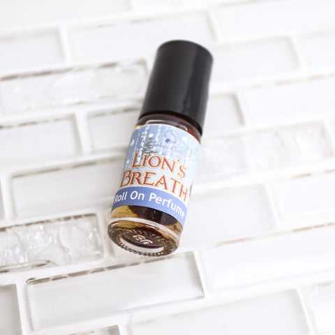 LION'S BREATH Roll On Perfume Oil - Fortune Cookie Soap - 1
