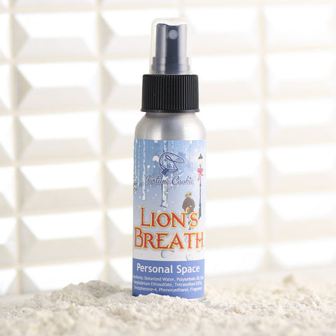 LION'S BREATH Personal Space Air Freshener - Fortune Cookie Soap