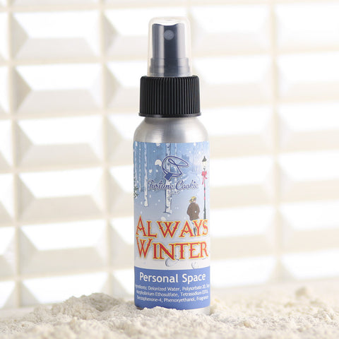 ALWAYS WINTER Personal Space Air Freshener - Fortune Cookie Soap