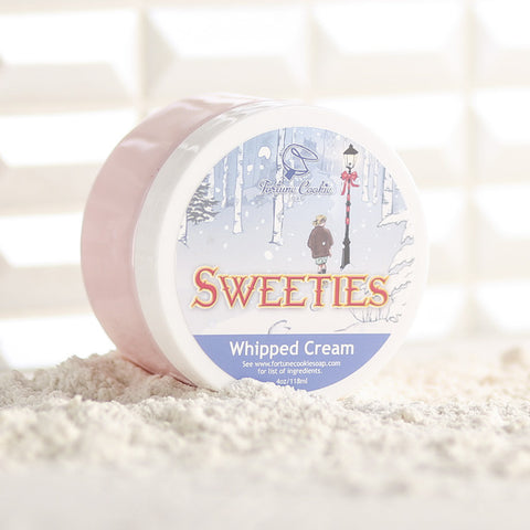 SWEETIES Whipped Cream - Fortune Cookie Soap - 1